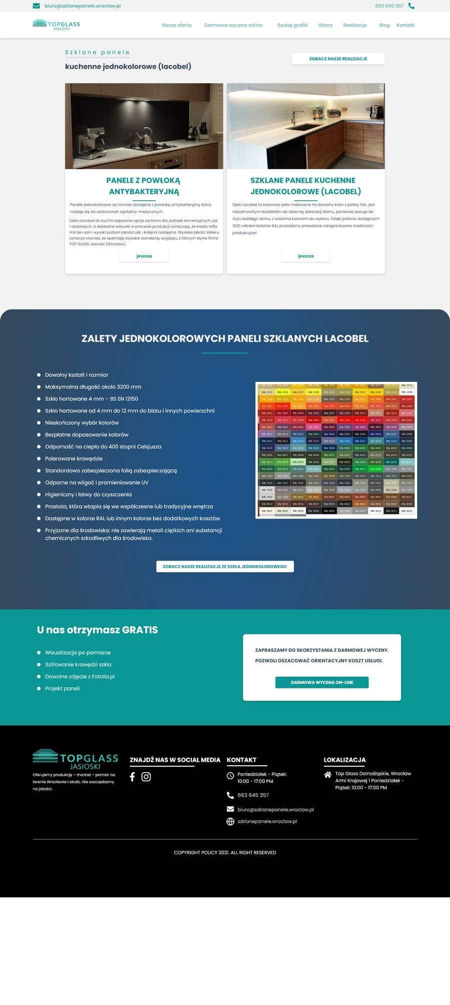 Proposition n°                                        2                                      du concours                                         Re-design website for easier UX and UI