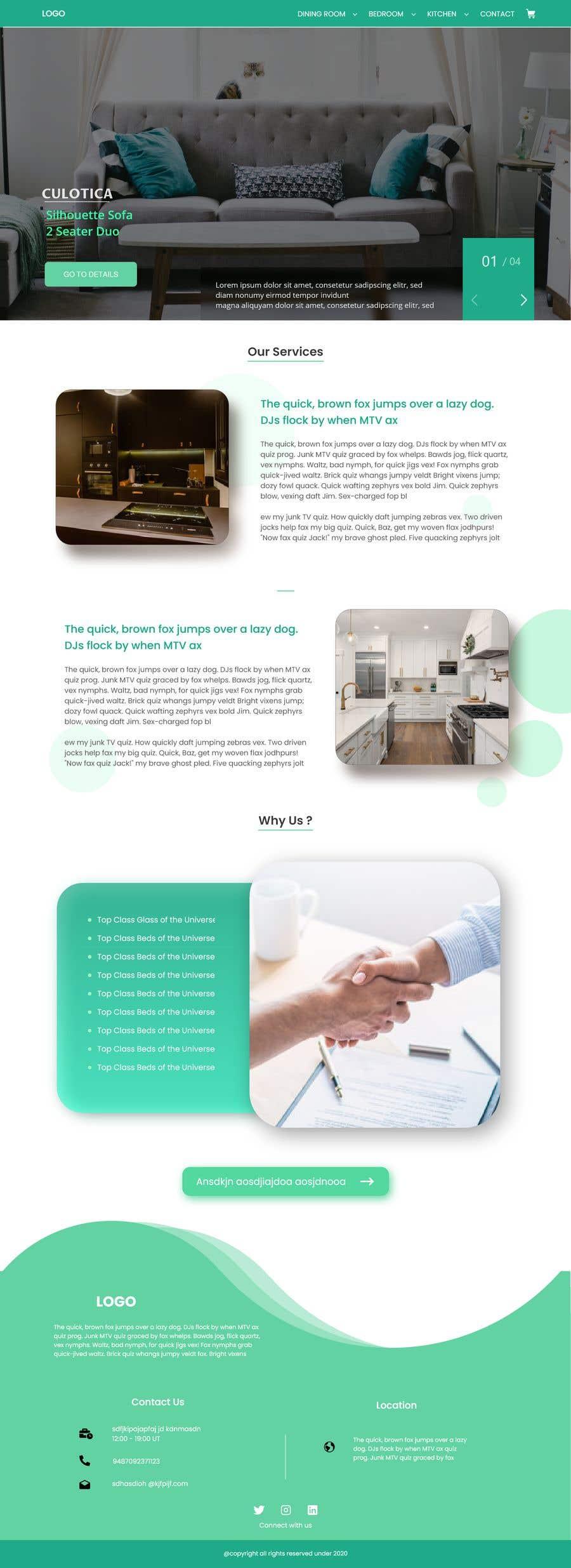 Proposition n°                                        8                                      du concours                                         Re-design website for easier UX and UI