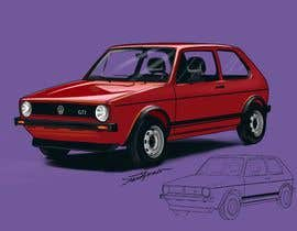 #23 for Car art drawings artwork by Souravb08