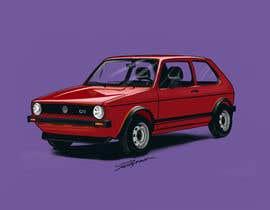 #24 for Car art drawings artwork by Souravb08