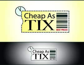 #120 for Logo Design for Cheap As TIX by anetkata