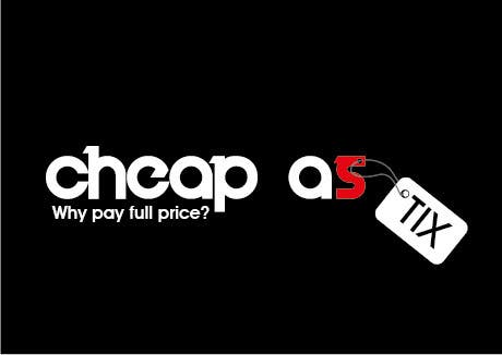 #119 for Logo Design for Cheap As TIX by spikeboy