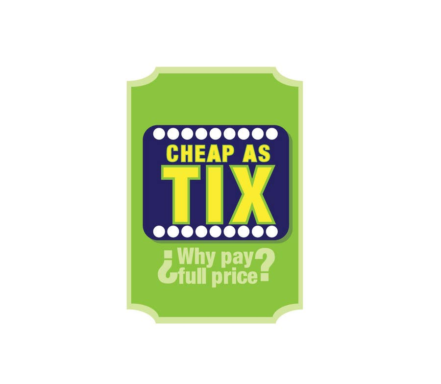 #99 for Logo Design for Cheap As TIX by Grupof5