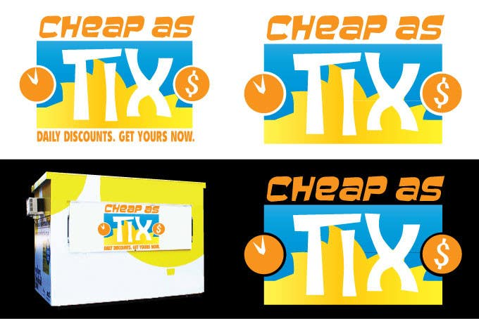 Contest Entry #                                        71                                      for                                         Logo Design for Cheap As TIX