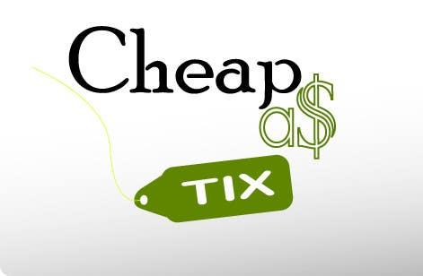 Penyertaan Peraduan #67 untuk Logo Design for Cheap As TIX