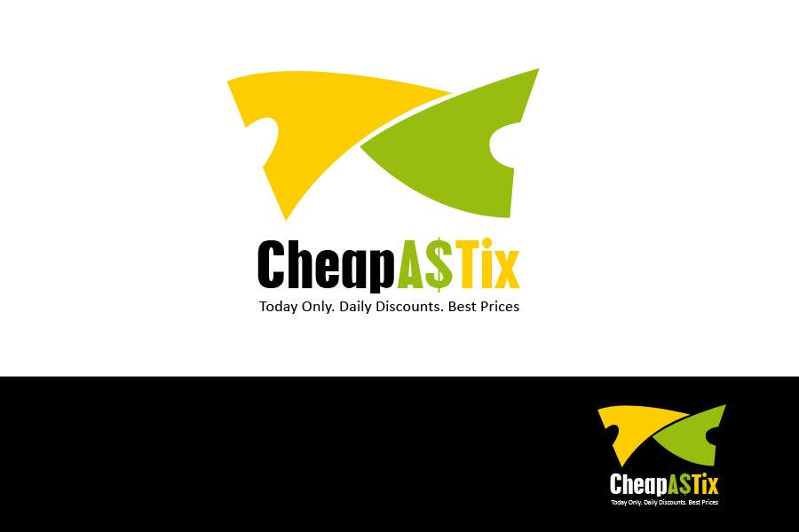 #111 for Logo Design for Cheap As TIX by tomq1989