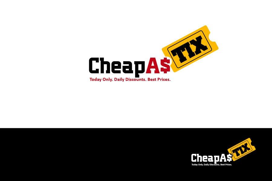 Penyertaan Peraduan #108 untuk Logo Design for Cheap As TIX