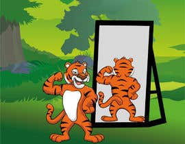 nº 37 pour Turn the tiger around par ansercreation
