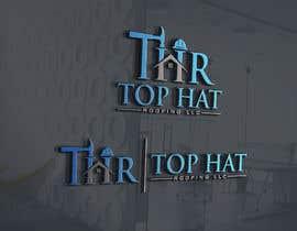Logoexpertmamun tarafından Top Hat Roofing LLC company logo design için no 1139