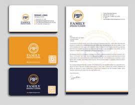 #188 para Business card & letterhead - simple financial business por Uttamkumar01