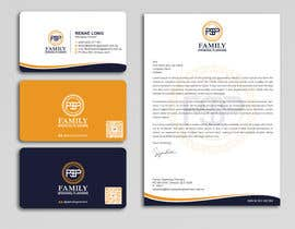 #190 para Business card & letterhead - simple financial business por Uttamkumar01