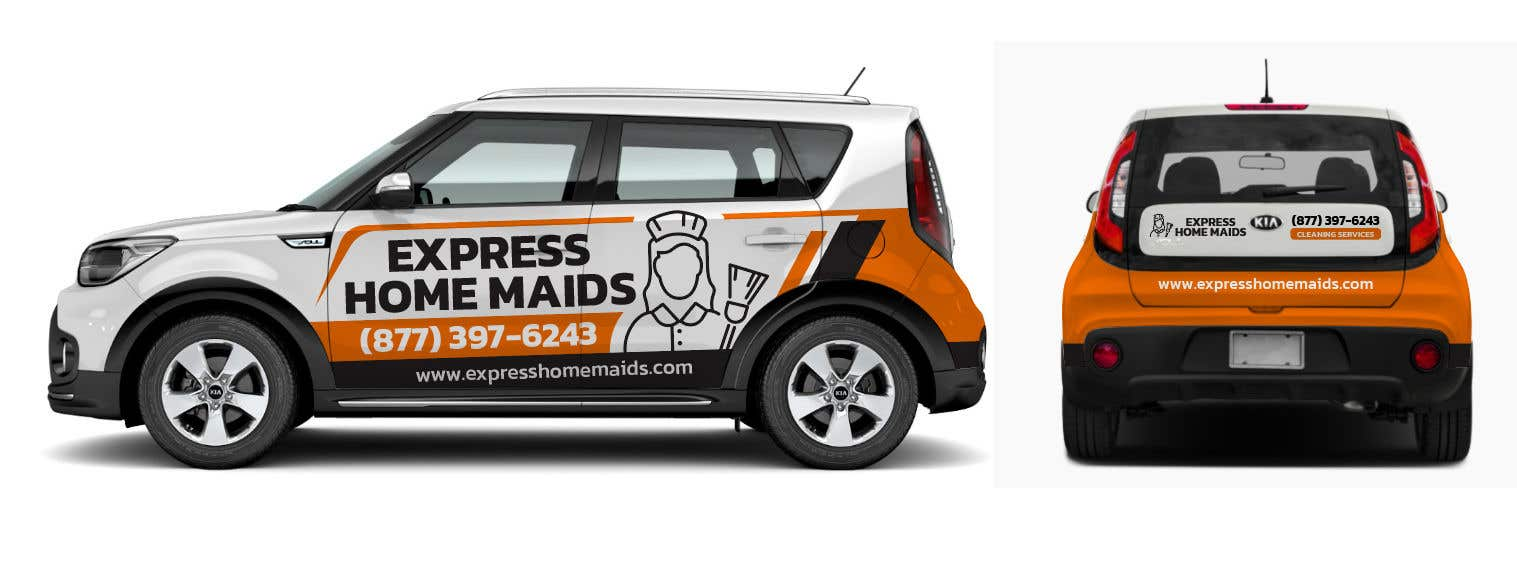 Proposition n°                                        71                                      du concours                                         CAR WRAP DESIGN CONTEST FOR HOUSE CLEANING COMPANY