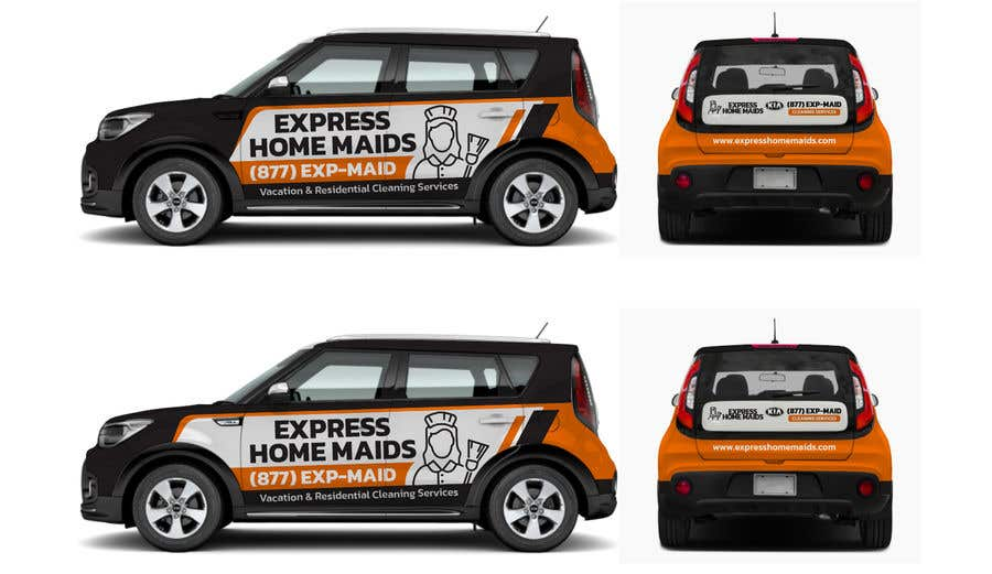 Proposition n°                                        84                                      du concours                                         CAR WRAP DESIGN CONTEST FOR HOUSE CLEANING COMPANY