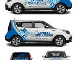 nº 33 pour CAR WRAP DESIGN CONTEST FOR HOUSE CLEANING COMPANY par ekkoarrifin
