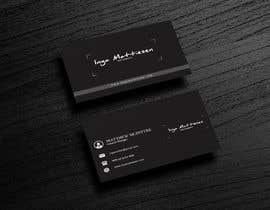 #406 for Business Card Design af jahidimran731