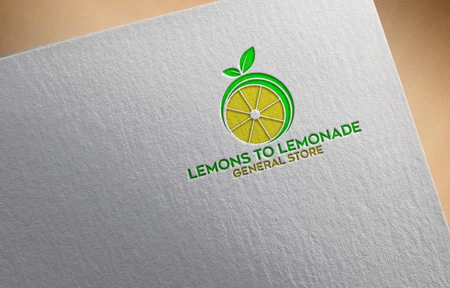 Konkurrenceindlæg #                                        84                                      for                                         Logo for Lemons to Lemonade General Store