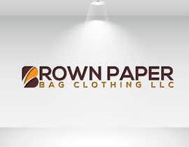 #140 for Brown Paper Bag Clothing Font af sharminnaharm