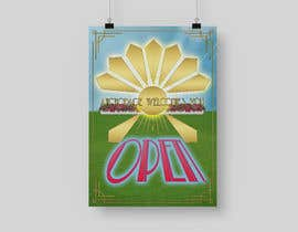 #41 untuk Create a Poster for my design concept - open for business - Anchorage Welcomes You oleh andreea95grosu