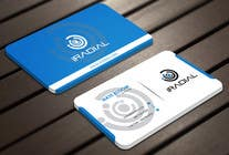 Design some Business Cards for iRadial için Graphic Design21 No.lu Yarışma Girdisi
