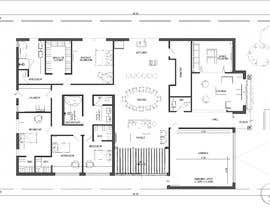 #20 for Floor Plan Design - Single Storey Dwelling - Amazing - House Plan - Architecture by ilustrarq