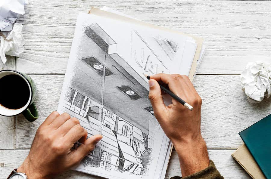 Konkurrenceindlæg #                                        38                                      for                                         Hand drawing of 3 images
