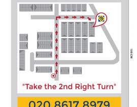 #6 for Design a Direction Poster Map for Business af saseart