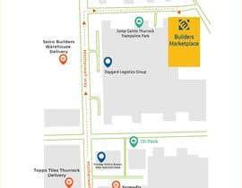 #4 for Design a Direction Poster Map for Business af tamthanh707