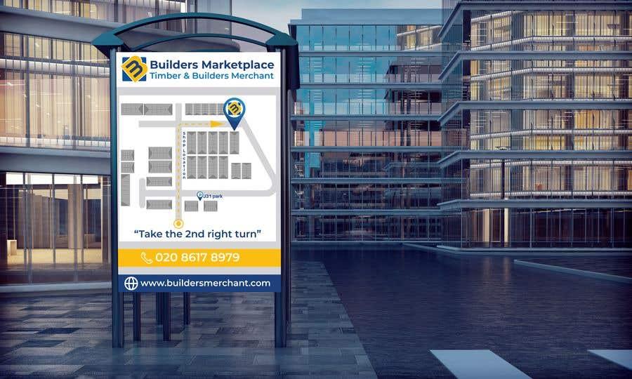 Konkurrenceindlæg #                                        39                                      for                                         Design a Direction Poster Map for Business