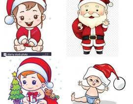 #2 cho we need a cartoon form of baby Santa bởi yousuf431