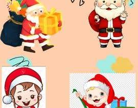 #12 cho we need a cartoon form of baby Santa bởi sondosabdelrahmn