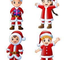 #8 cho we need a cartoon form of baby Santa bởi rashidshaikh9004