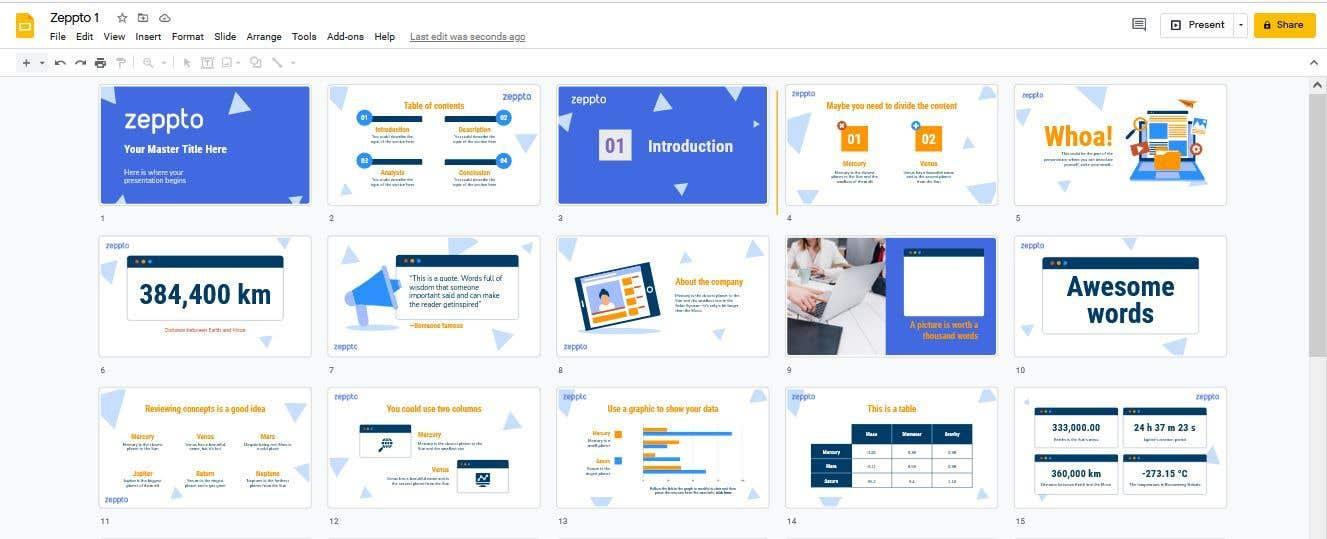 Konkurrenceindlæg #                                        9                                      for                                         Build me a Google Slides Presentation template