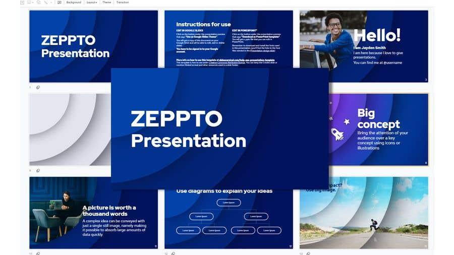 Konkurrenceindlæg #                                        16                                      for                                         Build me a Google Slides Presentation template