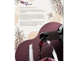 nº 10 pour Volantino A4 + motto per programma per vinicoltori par leonorfczpires19