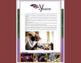 nº 18 pour Volantino A4 + motto per programma per vinicoltori par lupaya9