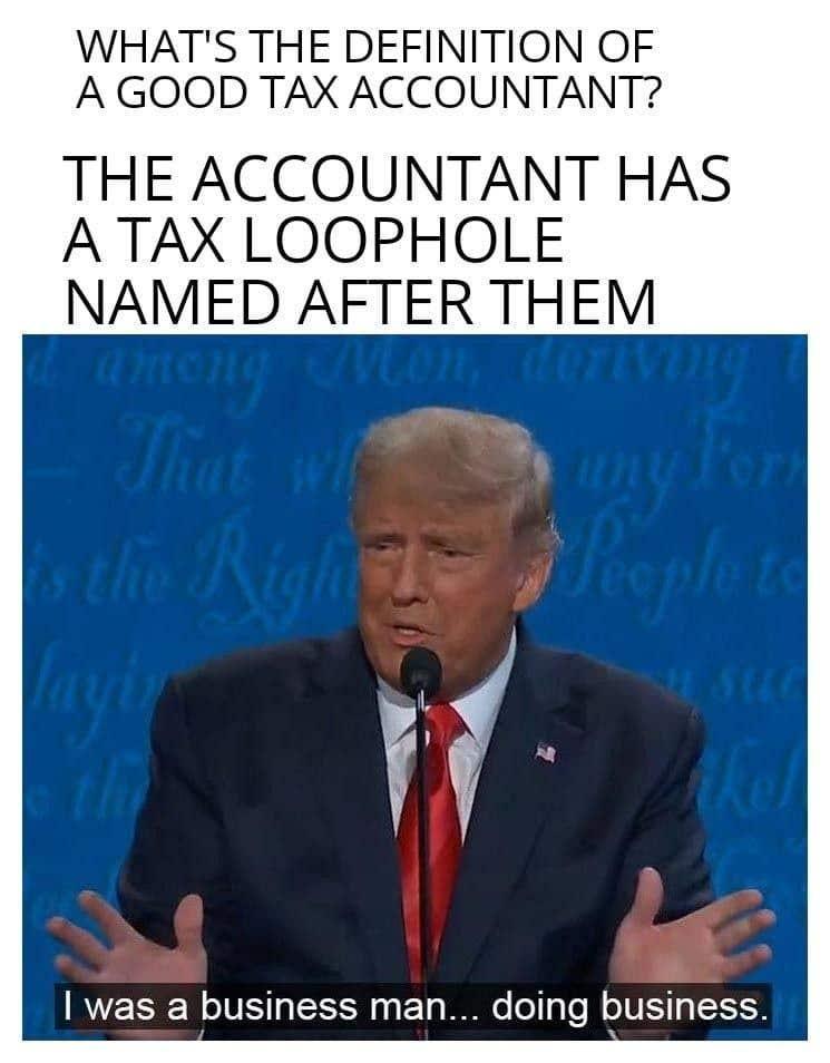 Bài tham dự cuộc thi #                                        7                                      cho                                         Accounting/Tax Memes