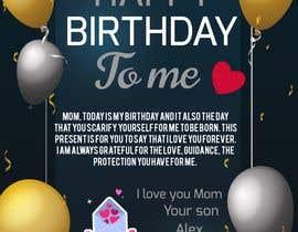 #46 for Desgin a card for Happy Birthday to Me af Salim2223
