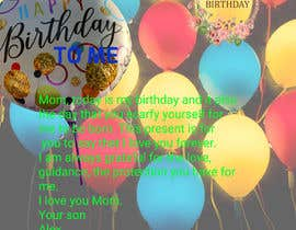#44 for Desgin a card for Happy Birthday to Me af Mahamud24434
