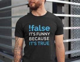 #92 for Create an ORIGINAL funny t shirt design for programmers af gourangabora15