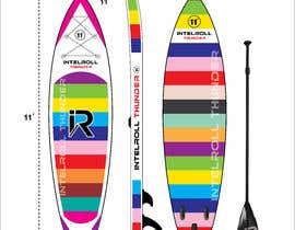 Nro 17 kilpailuun Paddleboard Design käyttäjältä FaridKhan039