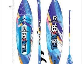Nro 39 kilpailuun Paddleboard Design käyttäjältä FaridKhan039