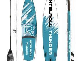 Nro 31 kilpailuun Paddleboard Design käyttäjältä fazel5333