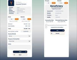 Nro 27 kilpailuun Design 2 pages for mobile app käyttäjältä astudilloalex1