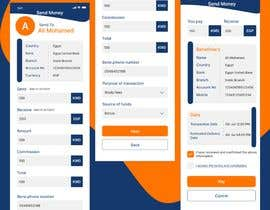 Nro 30 kilpailuun Design 2 pages for mobile app käyttäjältä SHAIMAAZAKOUT