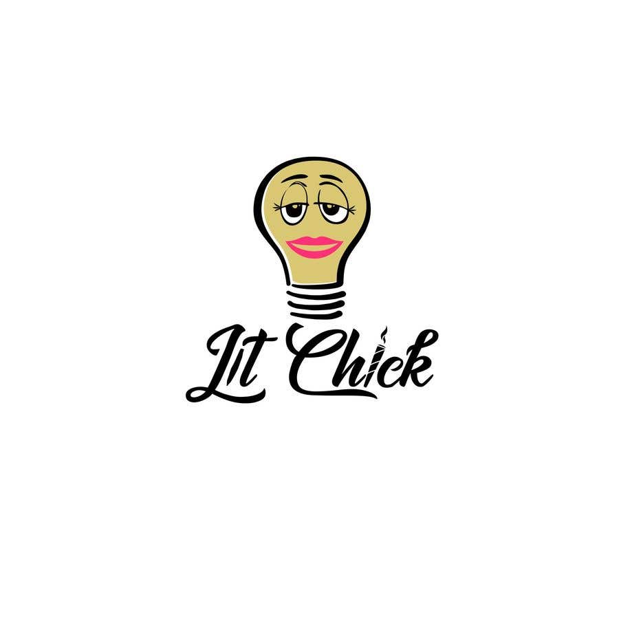 """Kilpailutyö #                                        44                                      kilpailussa                                         """"Lit Chick"""""""