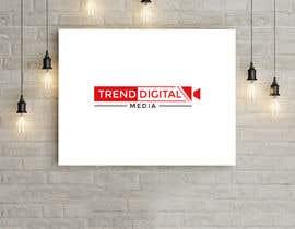 Nro 220 kilpailuun Logo Design Trend Digital Media käyttäjältä islamshofiqul852