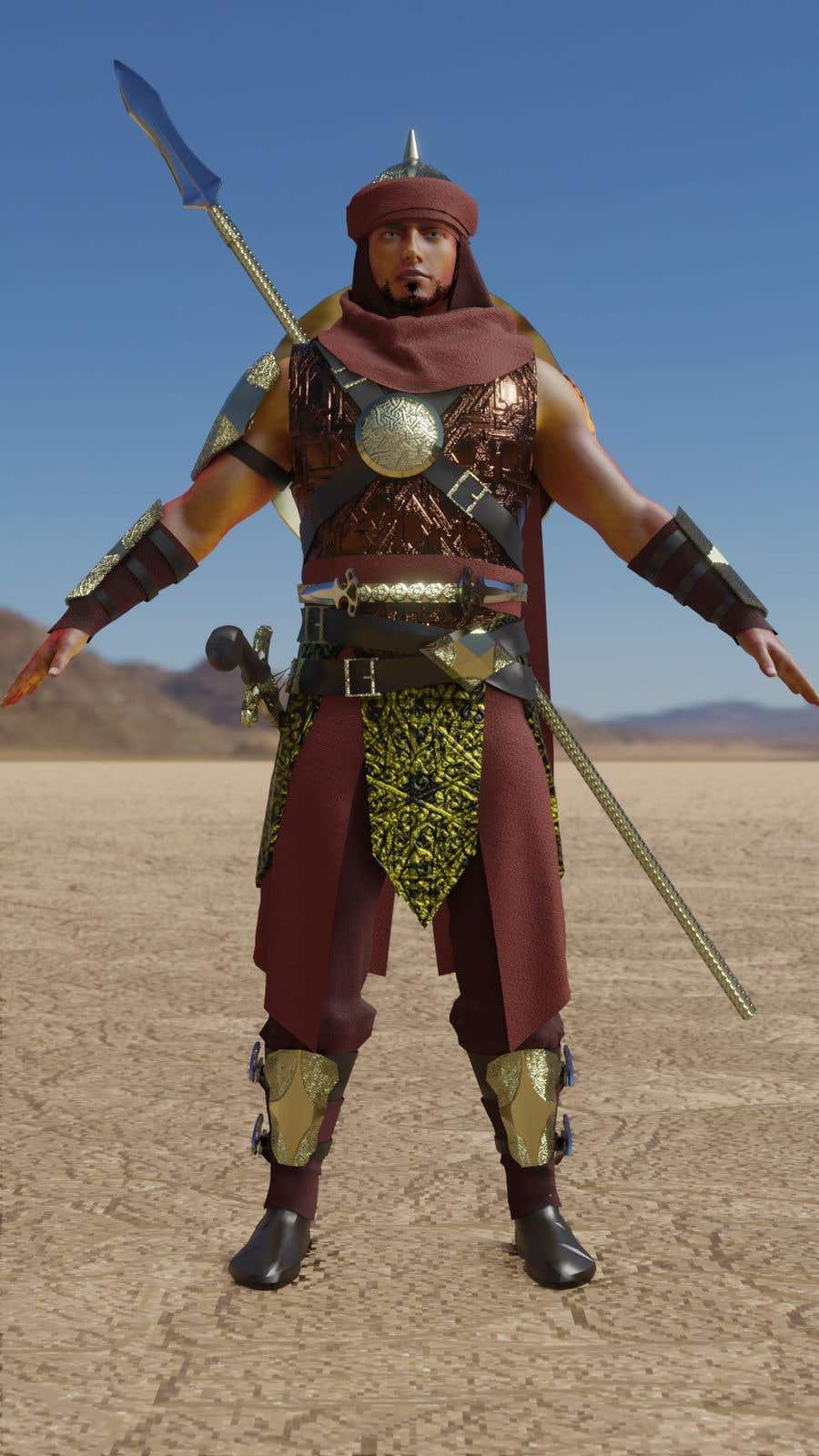 Penyertaan Peraduan #                                        17                                      untuk                                         Real 3D character