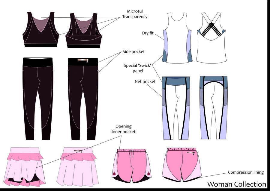 Bài tham dự cuộc thi #                                        77                                      cho                                         Sportswear fashion designer - pickleball