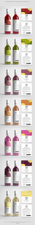 Proposition n°                                        31                                      du concours                                         Design a wine label series