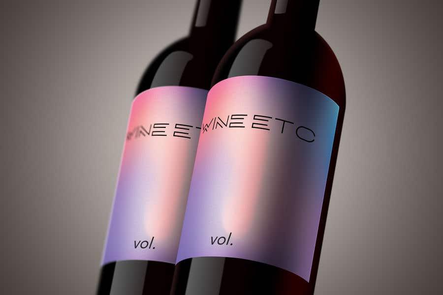 Proposition n°                                        112                                      du concours                                         Design a wine label series